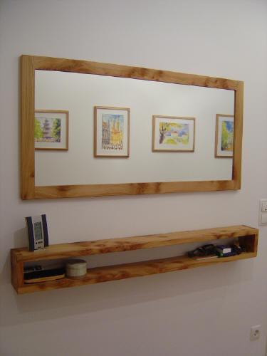 Schreinerei mit besonderen ideen massivholzm bel zur for Spiegel 90x120